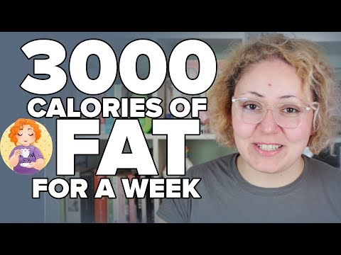 3000 calories of FAT for a WEEK - Fat Fast Creamstravaganza Calories on Keto experiment
