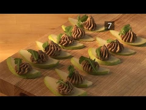 How To Make A Delicious Pear Chicken Liver Mousse