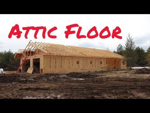Attic Floor, 3/4 Tongue Groove💪😎
