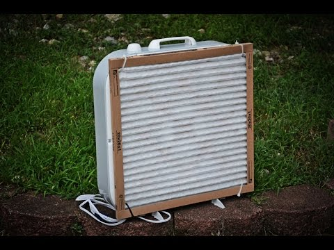 DIY Home Air Purifier - Using a Box Fan