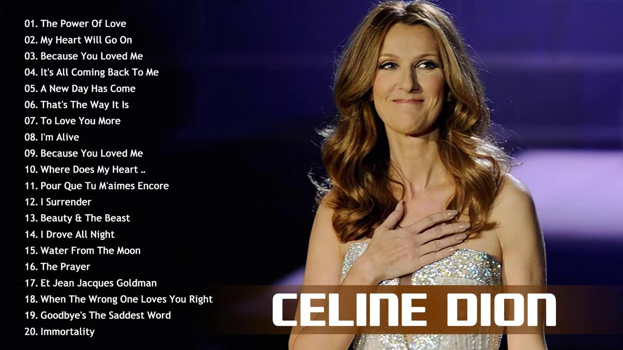 Celine dion greatest hits full album 2020 - Celine Dion Full Album 2020