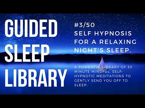 #3/50. Best guided meditation for a perfect night's sleep - EnTrance Total Sleep Library - 30 min.