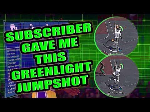 THIS SUBSCRIBER JUMPSHOT IS GREENS - NBA 2K18 JUMPSHOT TUTORIAL