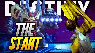 Destiny 2: GETTING STARTED & LOOKING FOR LOOT! (Destiny 2 PS4 GAMEPLAY)