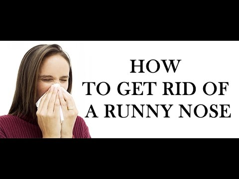 How to Clear a Stuffy, Runny, Sore Nose ?