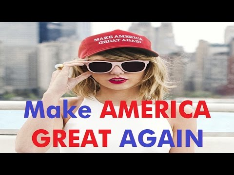 Taylor Swift  and Make America Great Again