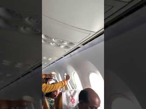 Air India plane window breaks in the air. Passengers praying. Irresponsible airlines.