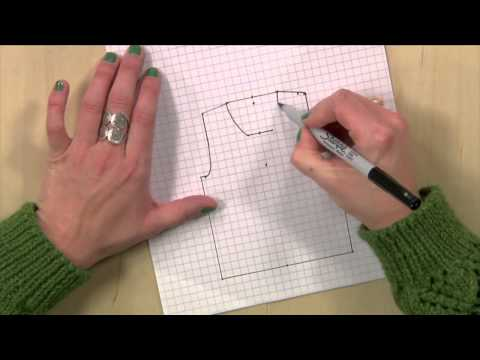 Knitting Pattern Schematics Draw Your Own