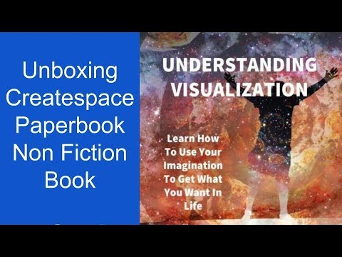 Unboxing Of Createspace Paperback Non fiction Book