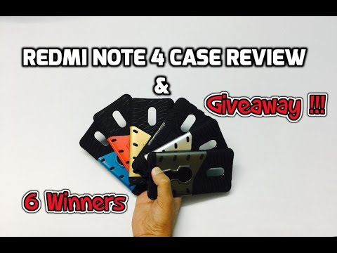 Cassiey Redmi Note 4 Case Unboxing & Giveaway (INDIA)