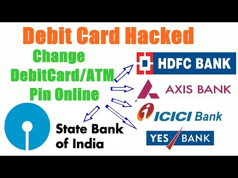 ATM Pin Change Online step by step