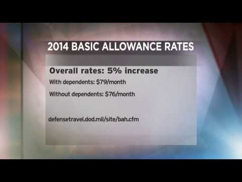 2014 BAH (Basic Allowance for Housing) Rates Released