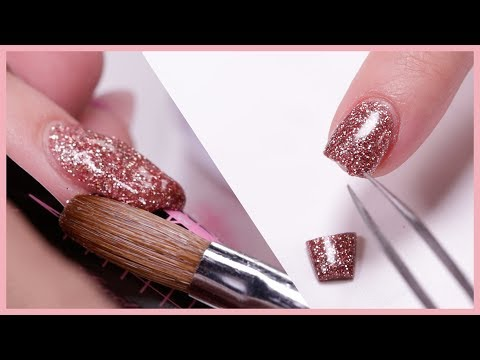 How to Fix a Broken Acrylic Nail - Step by step
