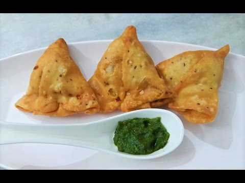 How to Make Samosa at Home   Indian Samosa Recipe  (समोसा रेसिपी - समोसा बनाने की विधि)