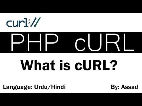 What is cURL?  cURL examples Urdu/Hindi