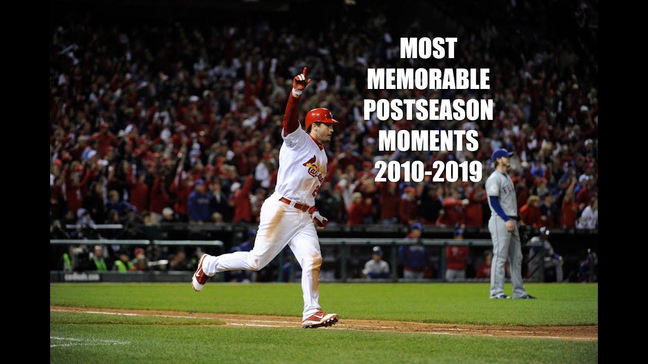Greatest MLB Postseason Moments of the 2010s