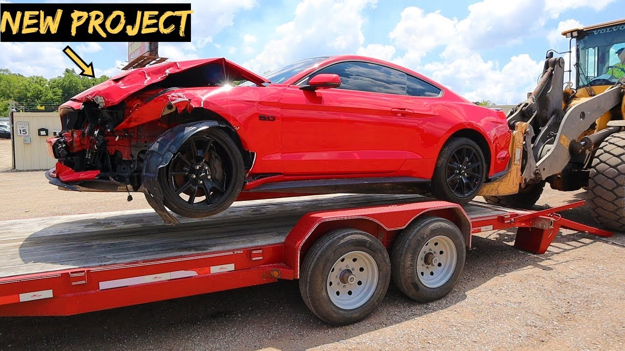I Bought A WRECKED 2017 Mustang GT with Hidden MODS