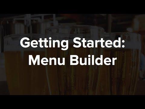 UTFB: Menu Builder
