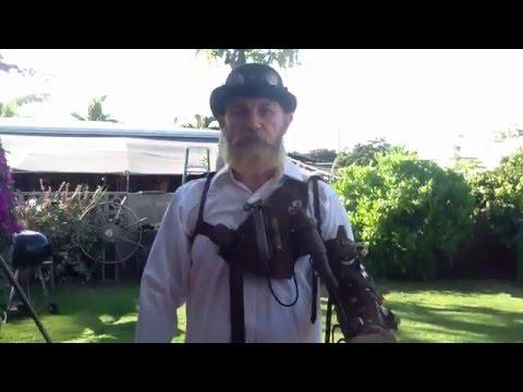 Steampunk Arm - John Hankins Castlegardener