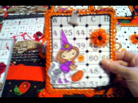 Embellishment swap MAS BINGO cards