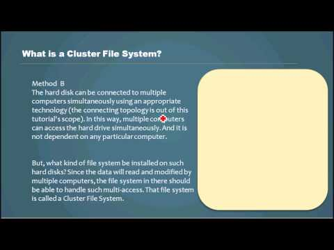What is a Cluster File System? - Database Tutorial 30