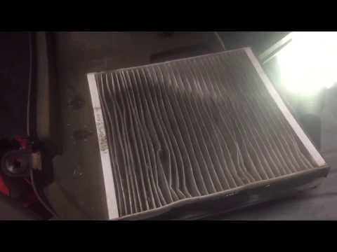 HOW TO REPLACE CABIN AIR FILTER BENZ ML500