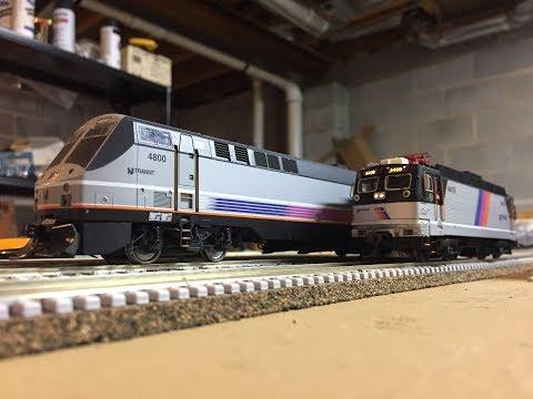 HO Scale: Northeast Corridor Railfanning Amtrak & NJT