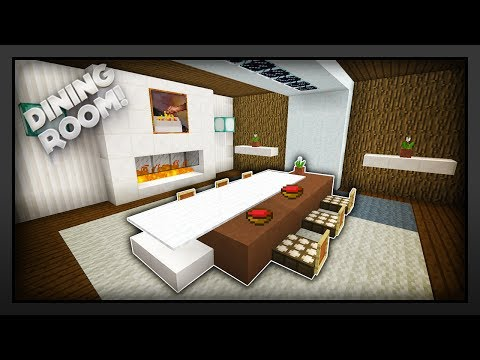 MInecraft - How To Make A Dining Room