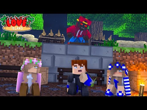 Minecraft LOVE ISLAND - WEREWOLF ROPO HAS TRAPPED THE GUYS!!