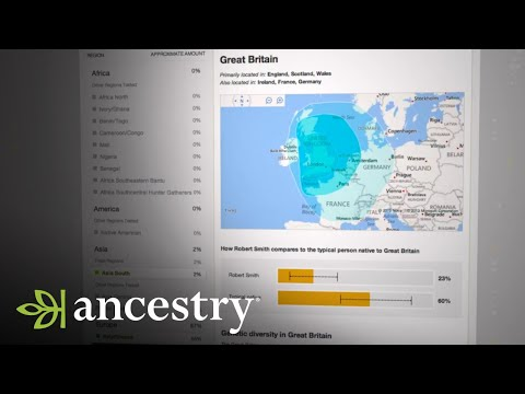 Welcome to AncestryDNA™ Ethnicity