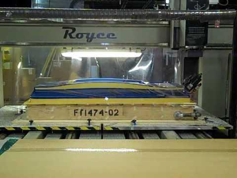 Large Part Distortion Printing