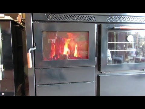 Obadiah's: The Heco 520 Cookstove - First Burn