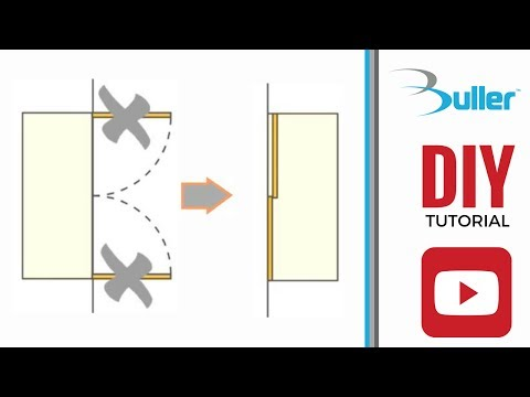 How to convert hinged wardrobe into sliding doors wardrobe with Placard sliding door track kit