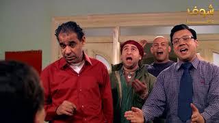 موقف مضحك جدا بين عادل امام والشباب في فرقة ناجي عطاالله