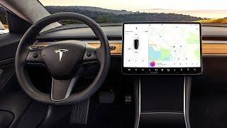 Tesla Model 3 INTERIOR Review In Detail Tesla 3 Interior Video CARJAM TV HD