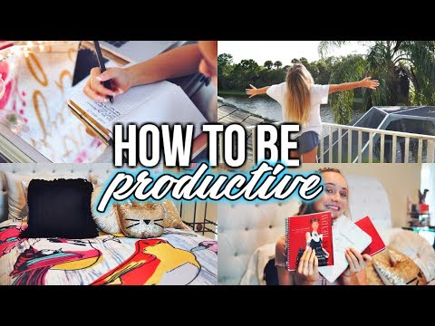 How to be Productive During Summer!