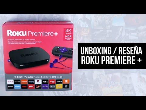 ¡VE CONTENIDO 4K / 1080p CON ESTA CAJITA! Unboxing / Reseña: Roku Premiere +