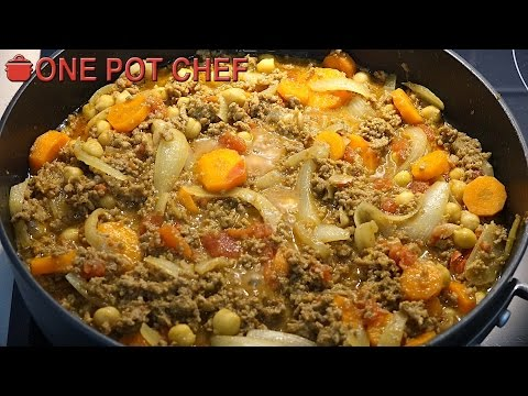 One Pot Beef Mince Curry | One Pot Chef