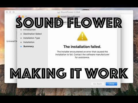 How to use Soundflower on Mac High Sierra (and make it work)