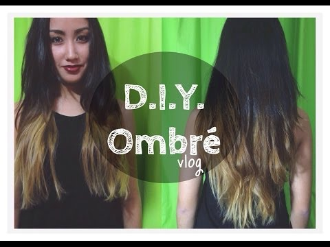 D.I.Y. Ombre for Dark Hair // Anna & Sophia's Vlogs