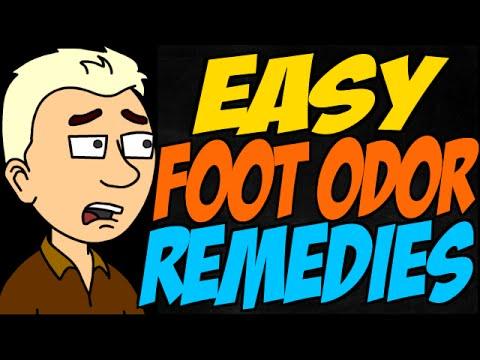 Easy Foot Odor Remedies