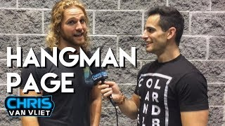 Hangman Page compares Bullet Club & Balor Club, Being the Elite, Adam Cole, New Japan