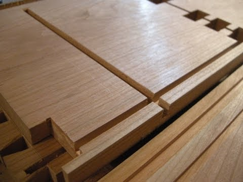 A Cabinetmaker's Toolchest part three: Dado, rabbets and grooves.