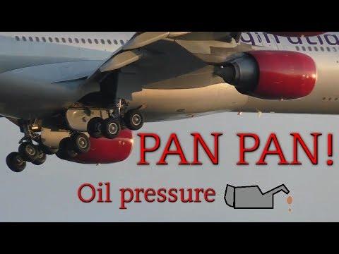 Virgin Atlantic VS3 Oil leak New York JFK ATC only
