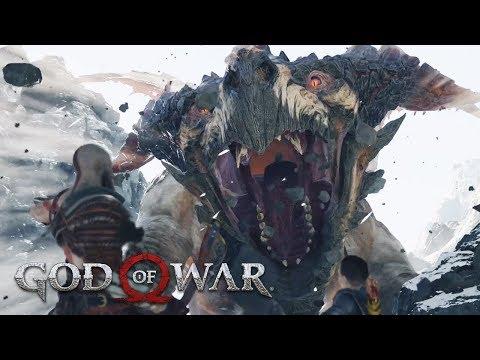 Lightning Dragon Boss Fight GOD OF WAR 4 (PS4 Pro)