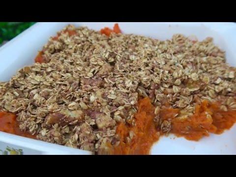 How To Make Homemade Sweet Potato Casserole - Vegan & Healthy