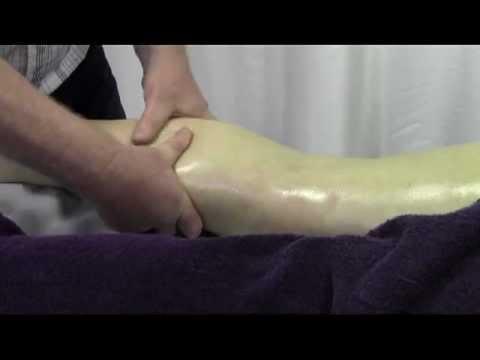 Sports Massage using Bony Prominences on Posterior Legs