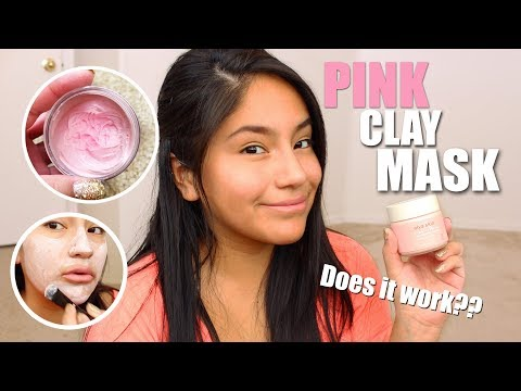 ALYA SKIN PINK CLAY MASK: Review/Demo/RESULTS!!