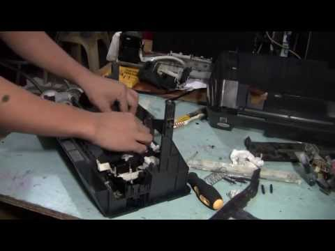 Cleaning the Epson Printer Wastepad and Head