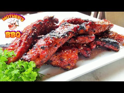 How to make Chinese Style Spare Ribs Recipe | On the Weber Kettle
